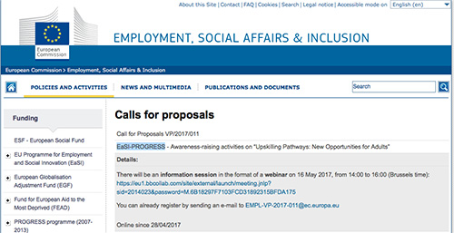 ee call 4 proposals