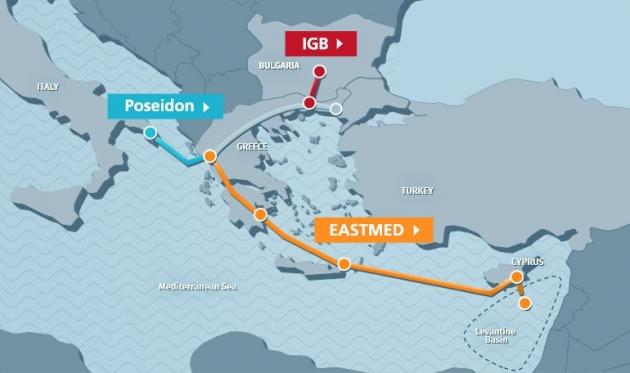 east med igb pipelines