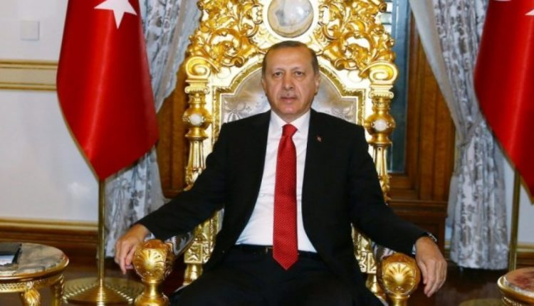 erdogan thronos